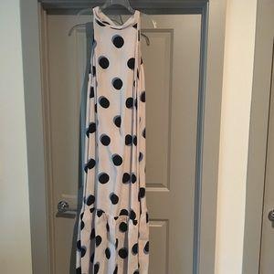 ASOS polka dot halter maxi dress. Firm price.